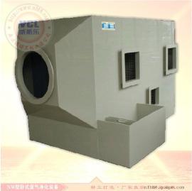 卧式酸雾废气处理塔 酸洗工业废气洗涤净化设备