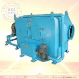 卧式废气喷淋净化塔 有机异味废气活性碳净化器