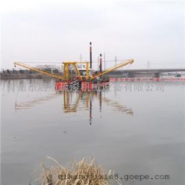 中小型非自航绞吸挖泥船清淤效率高