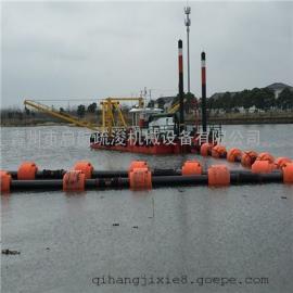 海口绞吸式挖泥船全液压 中小型河道绞吸挖泥船配置参数
