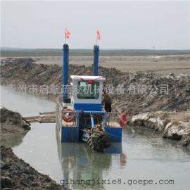 清理淤泥设备 水库河道清理淤泥专用船尺寸大小