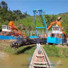吸泥泵挖泥船水库抽沙 水库里清淤抽沙的船