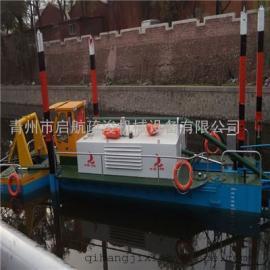 200方全液压清淤船现场施工操作