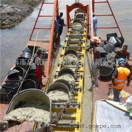 大型挖沙机械产量高 挖斗式挖沙船效率不低价格不高