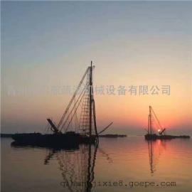 马鞍山的钻杆抽沙船在哪里买的 钻杆抽沙船造价多少钱