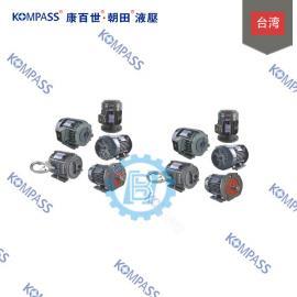 康百世KOMPASS卧式马达直结D30 3P4-H523-D30全新原装正品