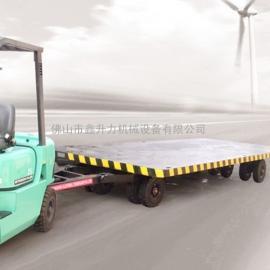 在哪里可以定做带护栏的平板拖车牵引式拖车
