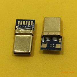 TYPE-C公头拉伸款C-3.0 56K电阻