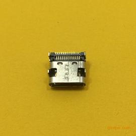 TYPE-C母座插板双贴片(有柱)