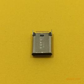 TYPE-C母座夹板0.8长度:9.3MM