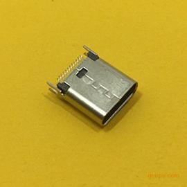 TYPE-C母座夹板1.0长度:9.3MM