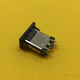 TYPE-C母座立式双贴片 长度:10.5MM
