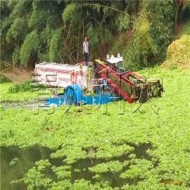 凤眼莲打捞船、昆山水葫芦清理机械、水生植物清漂船