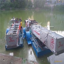 全自动水葫芦打捞船、水草清道夫、现代化水草清理机械