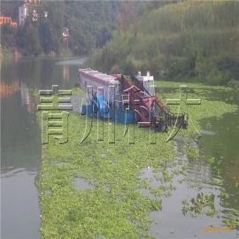 湖南长沙水葫芦清漂船、河面垃圾打捞船、全自动水面保洁船
