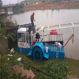 水下水草打捞机械、环保水上清漂船、水生植物打捞设备