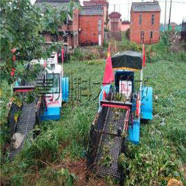 宜兴全自动打捞船清理河道水葫芦、水面水草收割机械