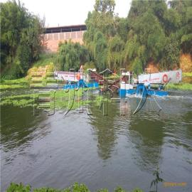 水域清洁船、嘉鱼水葫芦治理机械、全自动水葫芦打捞船