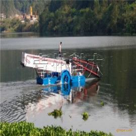 广东水浮莲清理船、液压水面清漂船、水葫芦打捞机械价格