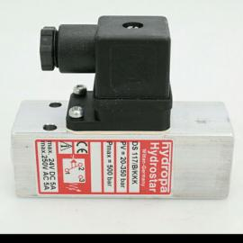 德国HYDROPA压力继电器DS117-350-B DS117-B-V3
