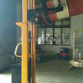 湛江市汽油厂家专用油桶升高车油桶升高搬运车