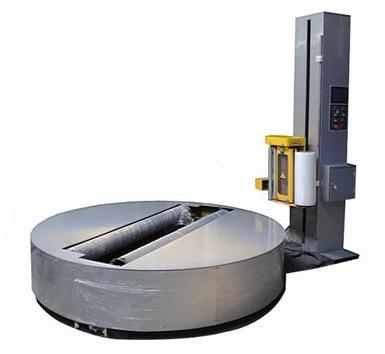 阻拉型预拉型缠绕机自走式缠绕机托盘缠绕 圆盘式缠绕机