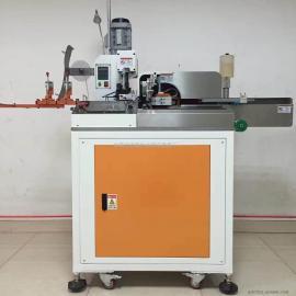 全自动五线单头打端子单头沾锡机 粘锡端子机 单头粘锡机