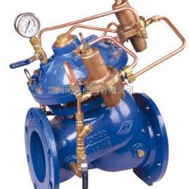 水利控制400X型流量控制阀法兰流量控制阀手动调节流量控制阀