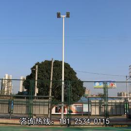 湖北省健身广场灯光照度 篮球场投光灯瓦数 批发灯杆生产厂家