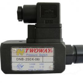 DNB-040K DNB-070K DNB-150K DNB-250K 台肯TWOWAY压力继电器