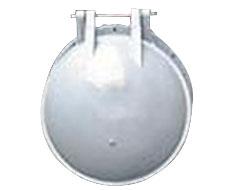 DN200止回阀玻璃钢复合拍门价格