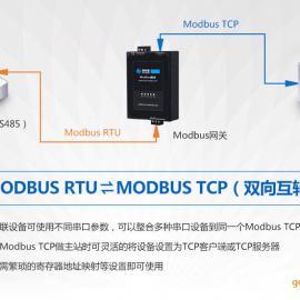 Modbus网关/Modbs TCP和Modbus RTU协议转换
