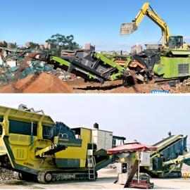 建筑垃圾处理需求大涨,客户要依据实际需求选择设备