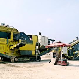 建筑垃圾移动破碎站是再生利用的利器