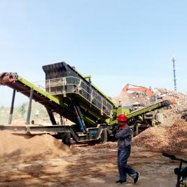 建筑垃圾处理项目――北京再次投产