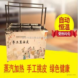 油皮机 不锈钢材质腐竹油皮机 起皮速度快