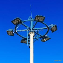 深圳7人足球场灯杆价格 学校足球场电线杆安装 足球场灯设计
