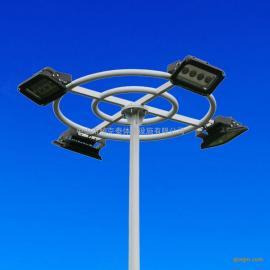 惠州学校足球场照明灯杆安装 11人制足球场布置灯光 足球场灯