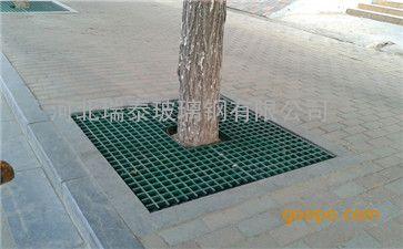 玻璃钢树篦子 玻璃钢树池盖板 玻璃钢护树板
