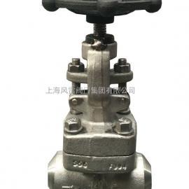 上海风雷Z61Y 电站焊接式闸阀 对焊 锻钢闸阀 SW 高温高压