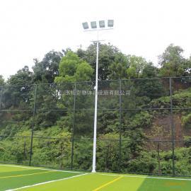 阳江7人制足球场灯杆平面图 体育足球场灯设计 足球场专用灯图片