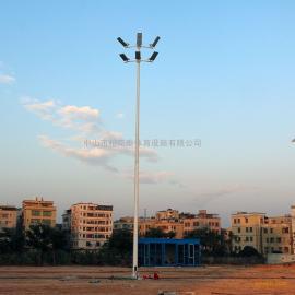 揭阳足球场灯光照明设计 12米高杆灯生产厂家 足球场电线杆基础