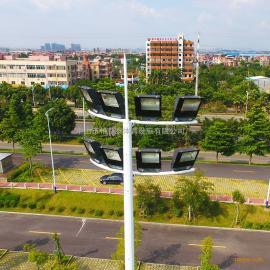 浙江足球场照明灯光耗电情况 15米高杆灯价格 7人制足球场面积