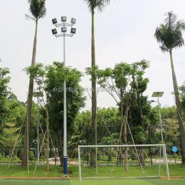 广西体育足球场灯杆高度 室外足球场灯设计 足球场专用灯图片