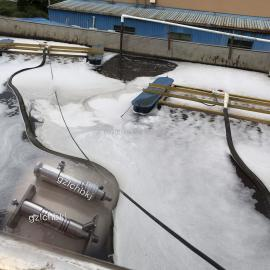 河道治理污水处理厂浮水喷泉曝气增氧超声波微纳米气泡曝气增氧器