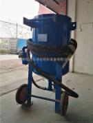 无尘开放式水喷砂机