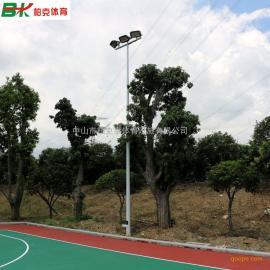 湛江市篮球场灯光设计规范 篮球场灯杆标准尺寸图 球场电杆图片