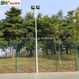 惠州市篮球场中杆灯灯杆材质 8米篮球场电线杆价格 篮球场灯设计