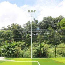梅州11人制足球场布置灯光 足球场灯杆厂家 足球场灯光照明设计