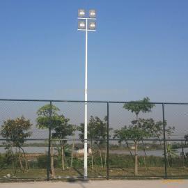汕尾市5人制足球场灯光方案 篮球场灯杆照明厂家 12米高杆灯灯杆